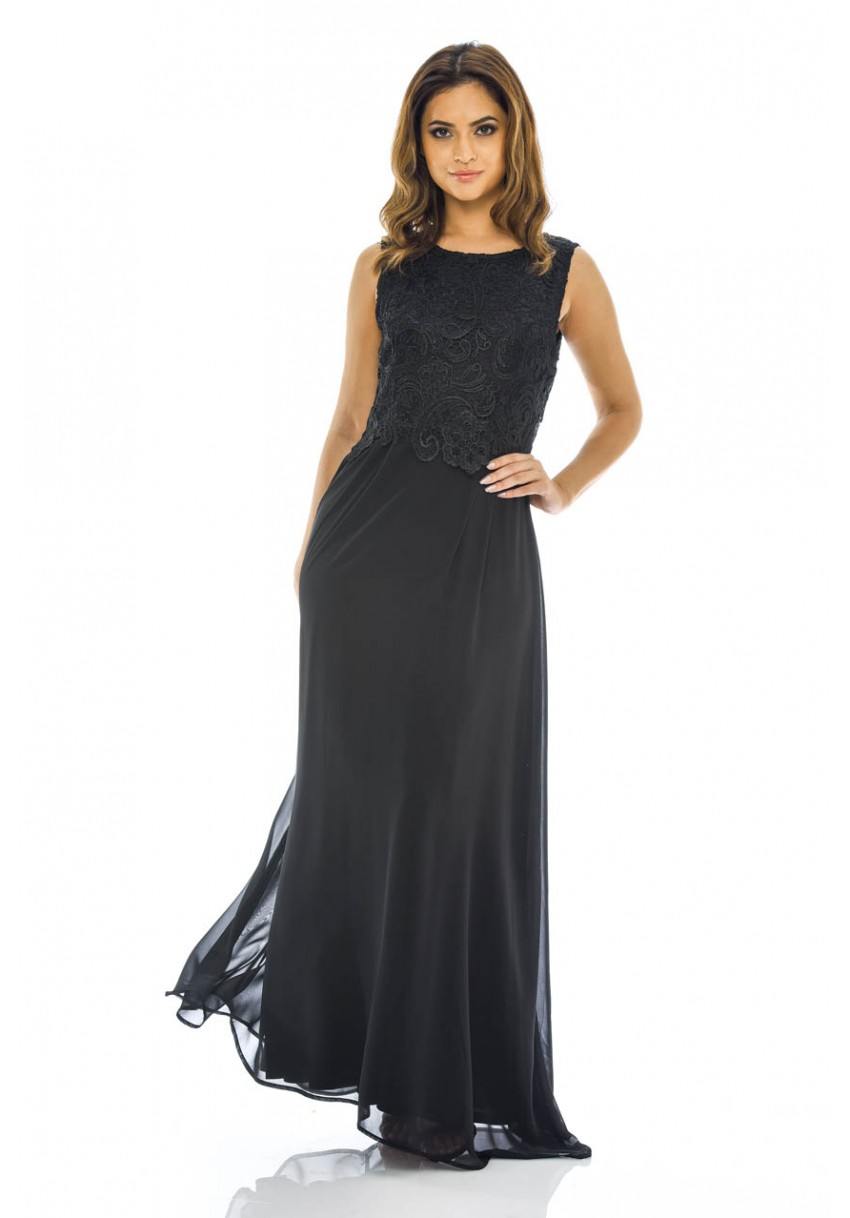 a6b364bf4ab Women s Black Maxi Black Dress - AX Paris USA-Fashion Dresses