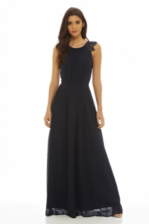 AX Paris Women's Chiffon Maxi Dress
